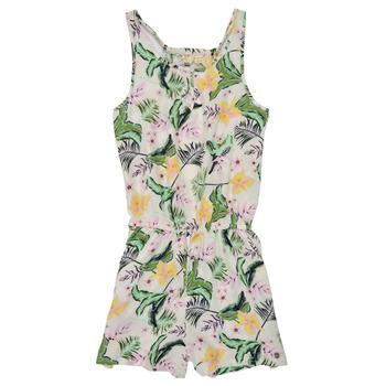 Υφασμάτινα Κορίτσι Ολόσωμες φόρμες / σαλοπέτες Roxy IN THE MOUNTAIN Multicolour