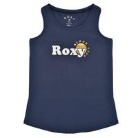 Υφασμάτινα Κορίτσι Αμάνικα / T-shirts χωρίς μανίκια Roxy THERE IS LIFE FOIL Marine