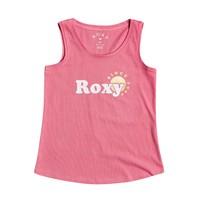 Υφασμάτινα Κορίτσι Αμάνικα / T-shirts χωρίς μανίκια Roxy THERE IS LIFE FOIL Ροζ