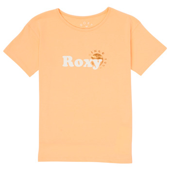 Υφασμάτινα Κορίτσι T-shirt με κοντά μανίκια Roxy DAY AND NIGHT FOIL Ροζ