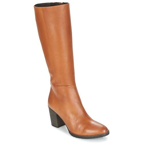 Παπούτσια Γυναίκα Μπότες για την πόλη Betty London ISME Camel