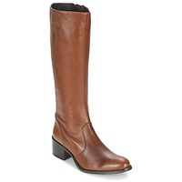 Παπούτσια Γυναίκα Μπότες για την πόλη Betty London IROIN CAMEL