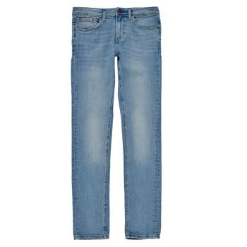 Υφασμάτινα Αγόρι Skinny jeans Teddy Smith FLASH Μπλέ