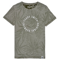 Υφασμάτινα Αγόρι T-shirt με κοντά μανίκια Teddy Smith T-OTYS Kaki