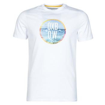 Υφασμάτινα Άνδρας T-shirt με κοντά μανίκια Oxbow N1TERO Άσπρο