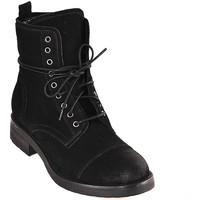 Παπούτσια Γυναίκα Μποτίνια Mally 5038 Μαύρος