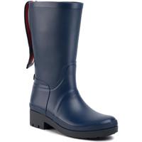 Παπούτσια Γυναίκα Μπότες βροχής Tommy Hilfiger FW0FW04583 Μπλε
