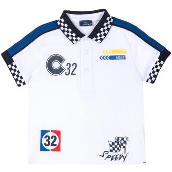 Υφασμάτινα Παιδί T-shirt με κοντά μανίκια Chicco 09033560000000 λευκό