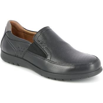 Παπούτσια Άνδρας Μοκασσίνια Grunland SC4449 Μαύρος