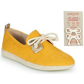 Παπούτσια Παιδί Χαμηλά Sneakers Armistice STONE ONE Yellow