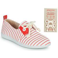Παπούτσια Παιδί Χαμηλά Sneakers Armistice STONE ONE Άσπρο / Red