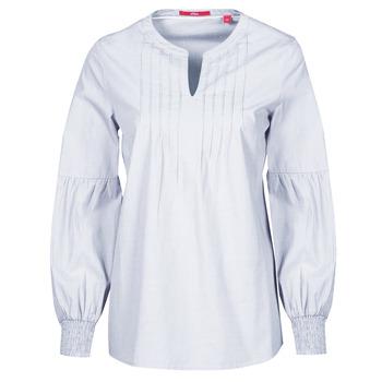 Υφασμάτινα Γυναίκα Μπλούζες S.Oliver 14-1Q1-11-4016-48W6 Μώβ