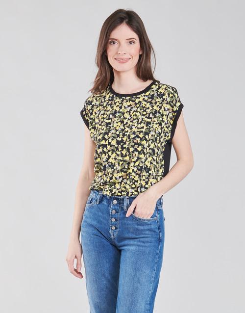 Υφασμάτινα Γυναίκα Μπλούζες S.Oliver 14-1Q1-32-7164-99B0 Black / Multicolour
