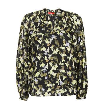 Υφασμάτινα Γυναίκα Μπλούζες S.Oliver 14-1Q1-11-4082-99A1 Black / Multicolour