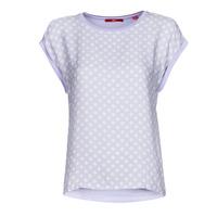 Υφασμάτινα Γυναίκα T-shirt με κοντά μανίκια S.Oliver 14-1Q1-32-6972-48B2 Μπλέ