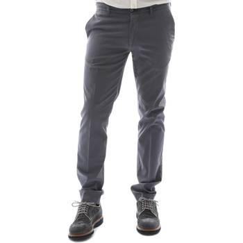 Υφασμάτινα Άνδρας Παντελόνια Chino/Carrot Sei3sei 6OYSTER E1653 Μαύρος
