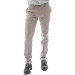 Υφασμάτινα Άνδρας Παντελόνια Chino/Carrot Sei3sei 6OYSTER E1669 Μαύρος