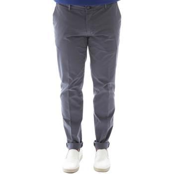 Υφασμάτινα Άνδρας Παντελόνια Chino/Carrot Sei3sei 6OYSTER E1648 Μαύρος
