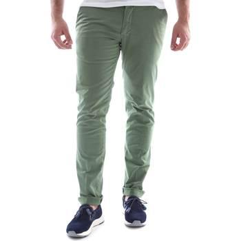 Υφασμάτινα Άνδρας Παντελόνια Chino/Carrot Sei3sei 6OYSTER E1648 Πράσινος