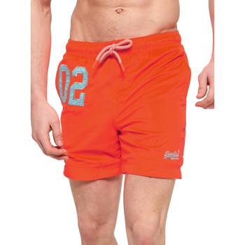 Υφασμάτινα Άνδρας Μαγιώ / shorts για την παραλία Superdry M30018AT Πορτοκάλι