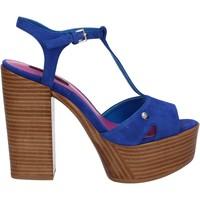 Παπούτσια Γυναίκα Σανδάλια / Πέδιλα Fornarina PE17KY1012S011 Μπλε