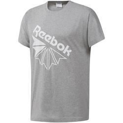 Υφασμάτινα Άνδρας T-shirt με κοντά μανίκια Reebok Sport DT8213 Γκρί