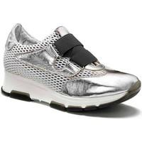 Παπούτσια Γυναίκα Χαμηλά Sneakers Keys 5183 Ασήμι