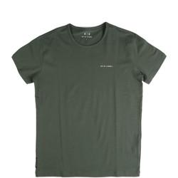 Υφασμάτινα Άνδρας T-shirt με κοντά μανίκια Key Up 2G69S 0001 Πράσινος