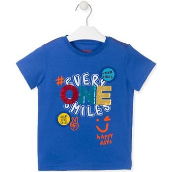 Υφασμάτινα Παιδί T-shirt με κοντά μανίκια Losan 015-1032AL Μπλε