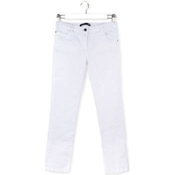 Υφασμάτινα Παιδί Παντελόνια Πεντάτσεπα Losan 714 9650AB λευκό