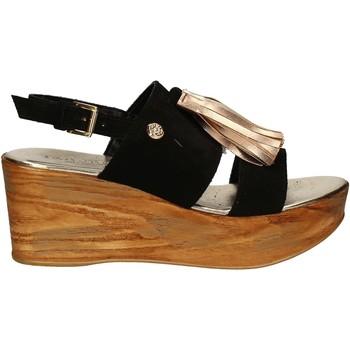 Παπούτσια Γυναίκα Σανδάλια / Πέδιλα Byblos Blu 672213 Μαύρος