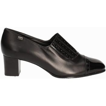 Παπούτσια Γυναίκα Μοκασσίνια Valleverde V12024 Μαύρος