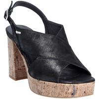 Παπούτσια Γυναίκα Σανδάλια / Πέδιλα IgI&CO 1186 Μαύρος
