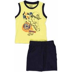 Υφασμάτινα Παιδί Σετ Losan 815-8042AC Κίτρινος
