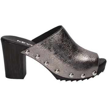 Παπούτσια Γυναίκα Τσόκαρα Keys 5868 Γκρί