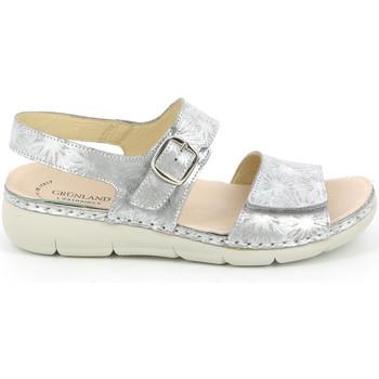 Παπούτσια Γυναίκα Σανδάλια / Πέδιλα Grunland SE0459 Ασήμι