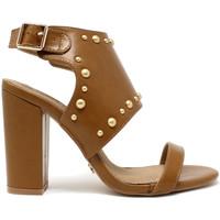 Παπούτσια Γυναίκα Σανδάλια / Πέδιλα Gold&gold A19 GZ01 καφέ