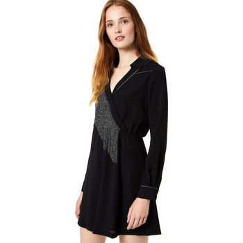 Υφασμάτινα Γυναίκα Κοντά Φορέματα Liu Jo F69292 T9121 Μαύρος