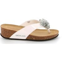Παπούτσια Γυναίκα Σαγιονάρες Grunland CB2482 λευκό