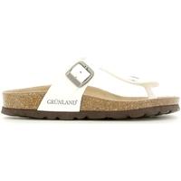 Παπούτσια Παιδί Σαγιονάρες Grunland CB0928 λευκό