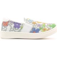 Παπούτσια Παιδί Slip on Crazy MK1063B6E.X λευκό