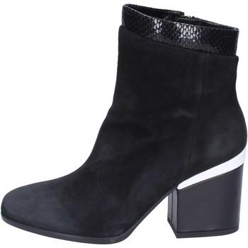 Παπούτσια Γυναίκα Μποτίνια Hogan Μπότες αστραγάλου BK687 Μαύρος
