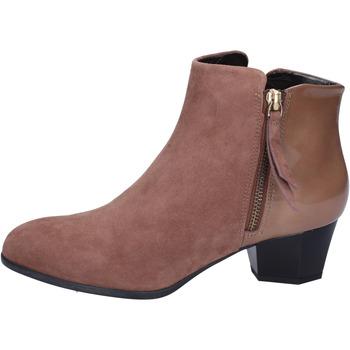 Παπούτσια Γυναίκα Μποτίνια Hogan Μπότες αστραγάλου BK688 καφέ