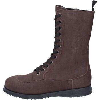 Παπούτσια Γυναίκα Μποτίνια Hogan Μπότες αστραγάλου BK691 καφέ