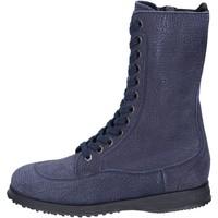Παπούτσια Γυναίκα Μποτίνια Hogan Μπότες αστραγάλου BK692 Μπλε