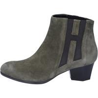 Παπούτσια Γυναίκα Μποτίνια Hogan Μπότες αστραγάλου BK698 πράσινος