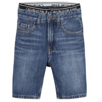 Υφασμάτινα Αγόρι Σόρτς / Βερμούδες Calvin Klein Jeans AUTHENTIC LIGHT WEIGHT Μπλέ