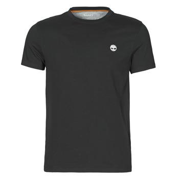 Υφασμάτινα Άνδρας T-shirt με κοντά μανίκια Timberland SS DUNSTAN RIVER POCKET TEE SLIM Black