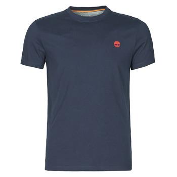 Υφασμάτινα Άνδρας T-shirt με κοντά μανίκια Timberland SS DUNSTAN RIVER POCKET TEE SLIM Marine