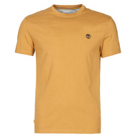 Υφασμάτινα Άνδρας T-shirt με κοντά μανίκια Timberland SS DUNSTAN RIVER POCKET TEE SLIM Beige